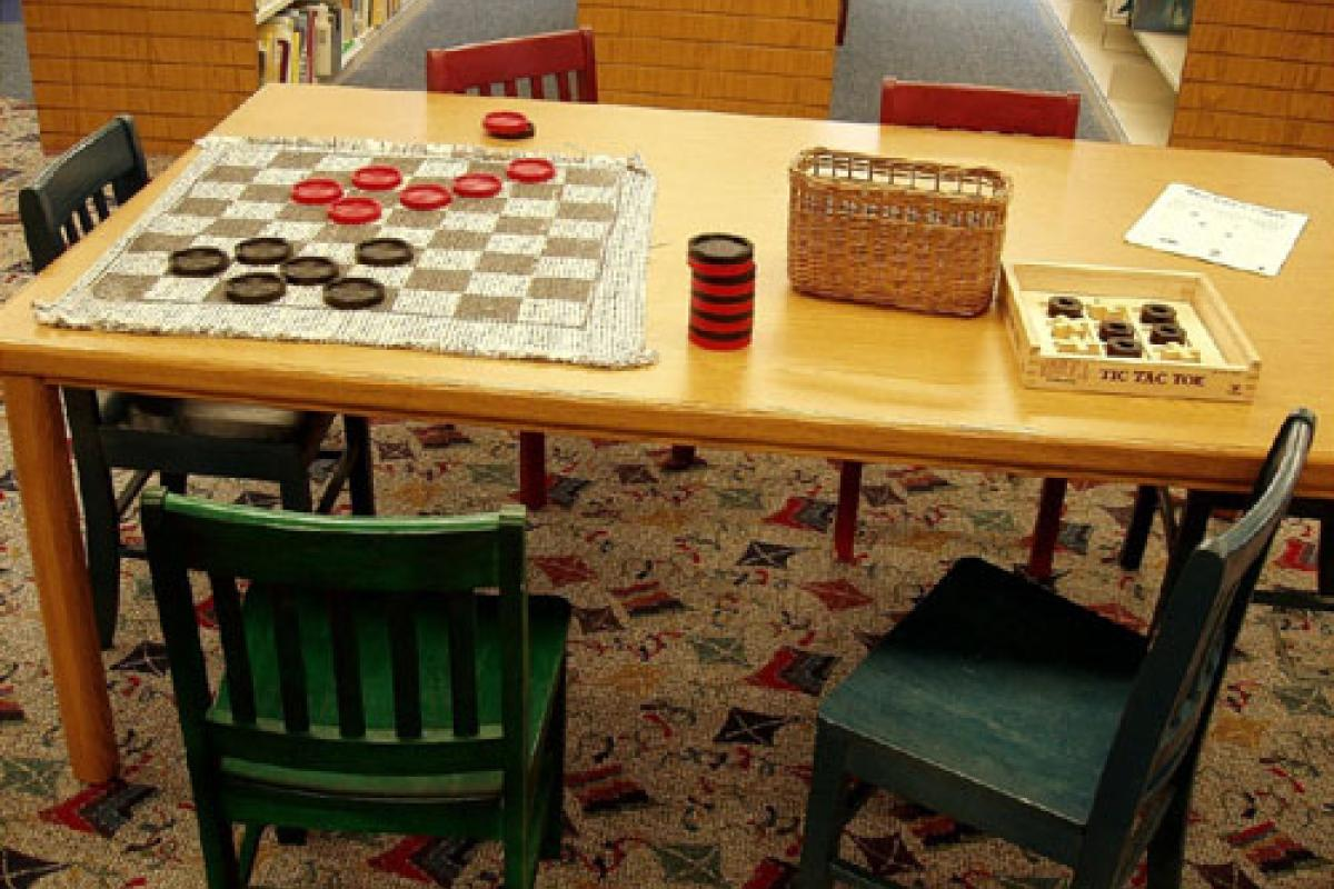 Children's Department game table.