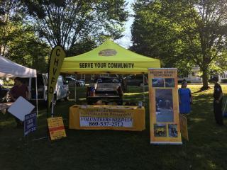 Volunteer Recruitment Booth