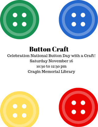 National Button Day Craft