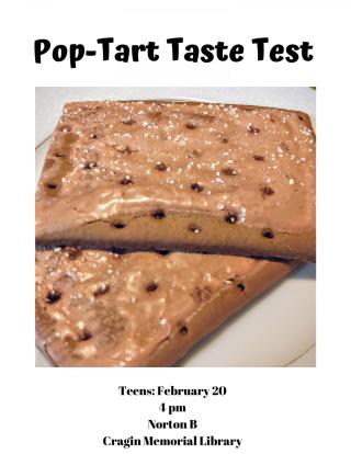 Teens: Pop-Tart Taste Test