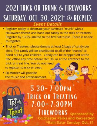 2021 Trick or Trunk